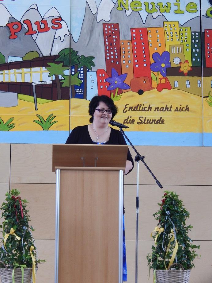 Rede der Vorsitzenden des Schulelternbeirates Frau Kochem