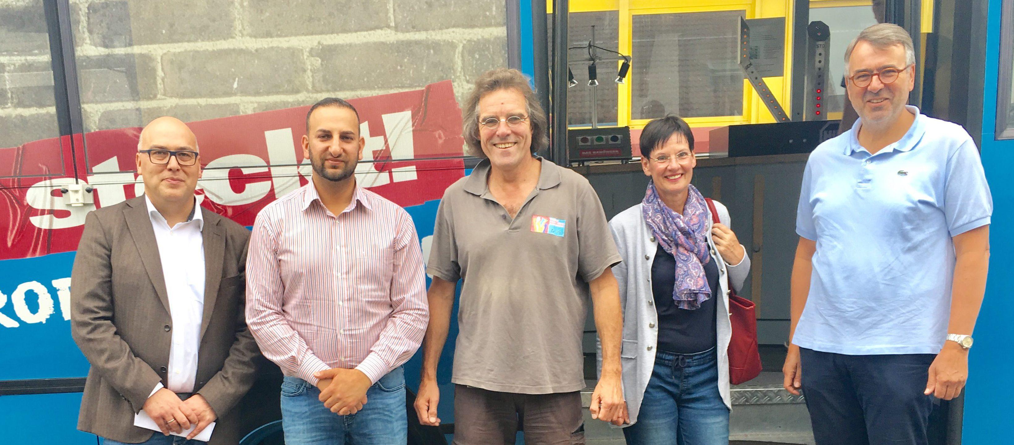 """6 Betriebe, 2 Kammern und eine weiterführende Schule präsentierten sich an der Robert-Krups-Schule am """"Tag zur beruflichen Orientierung """""""