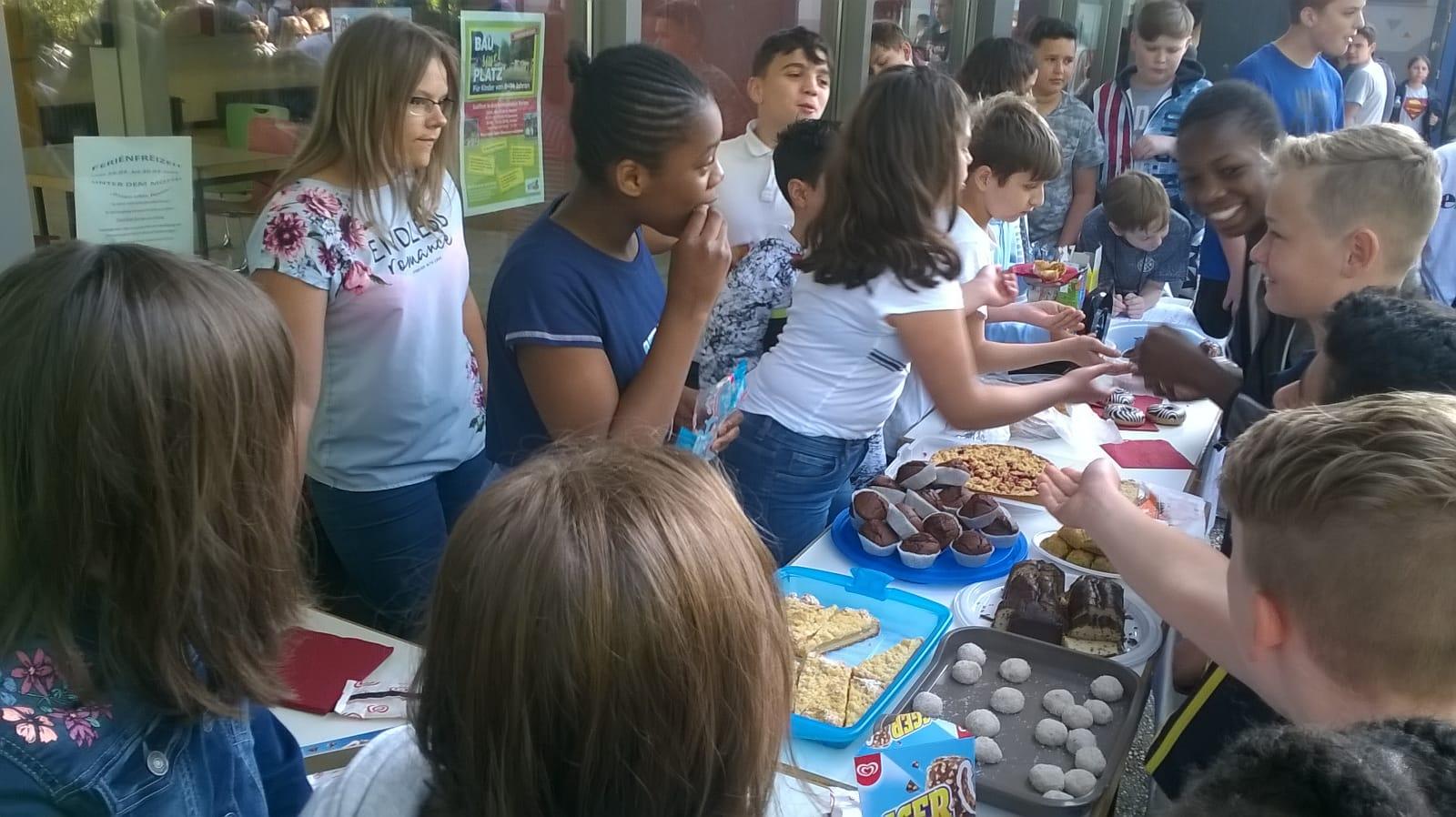 Spendensammlung für Kinder in Guatemala
