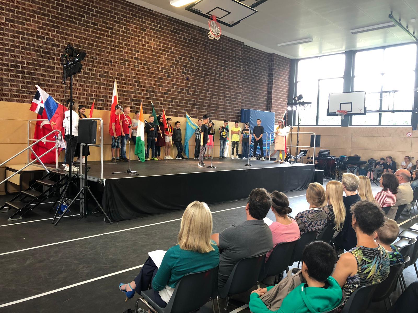 Erfolgreiche Eingewöhnungswoche an der Robert-Krups-Schule