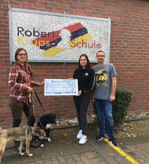 Schüler stürmten die Robert-Krups-Schule für einen guten Zweck